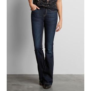 Buckle Black Dark Wash Bootcut Jeans No. 53 26x34